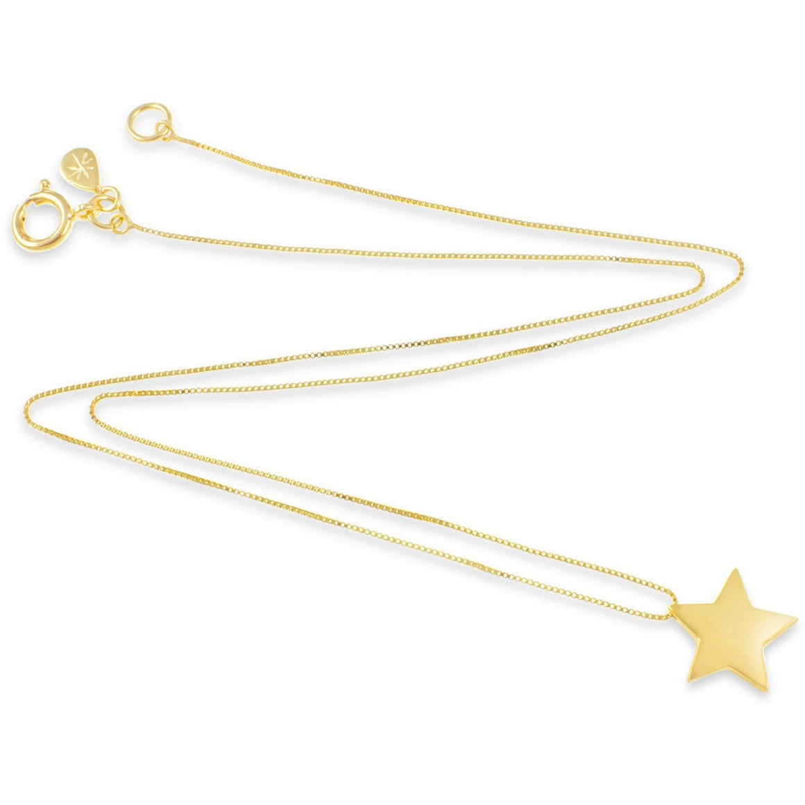 Star Pendant in Gold