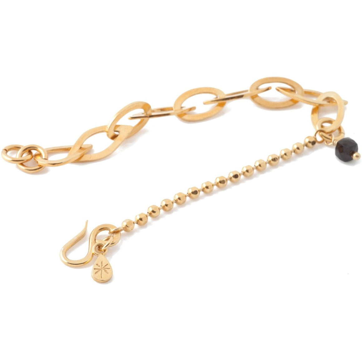 Chain Charm Bracelet in Gold