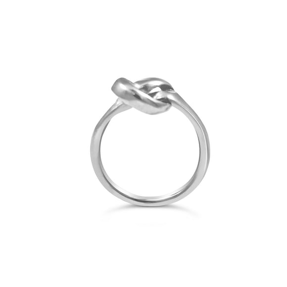 Knot Ring Silver