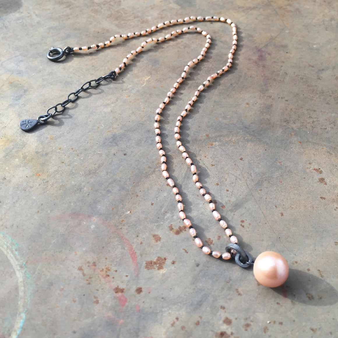 Seed Natural Pearl Necklace