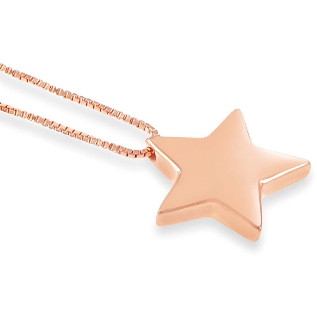 Star Pendant in Rose Gold