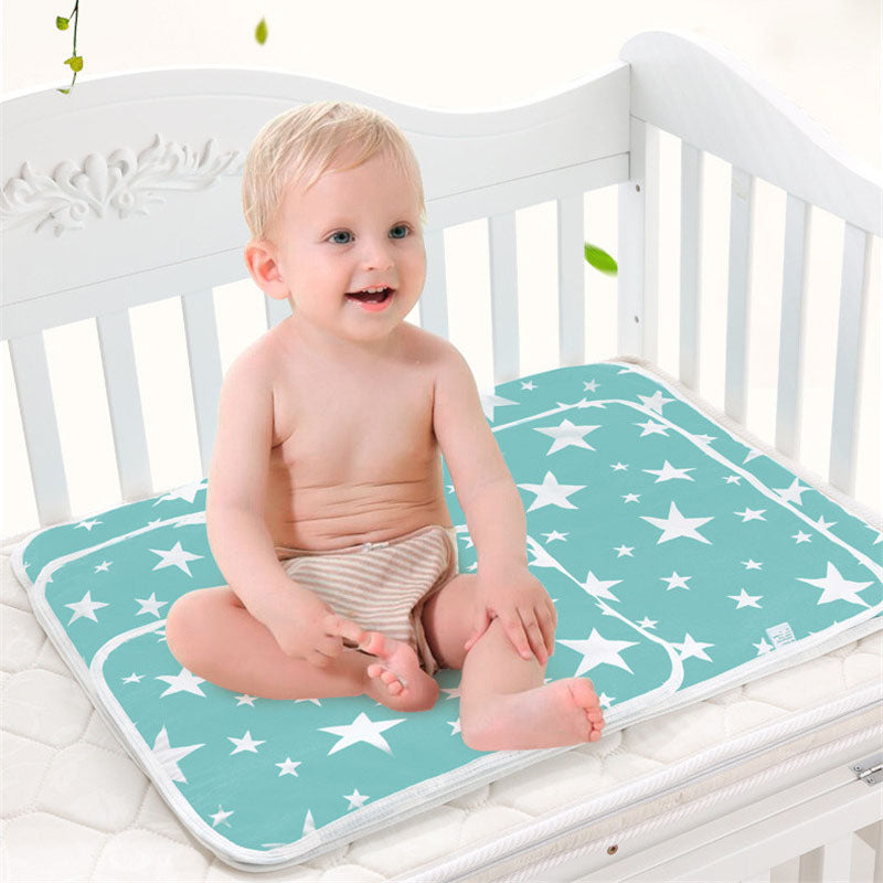 Baby Portable Foldable Washable Water Resistant Changing Mat Cute Mattress