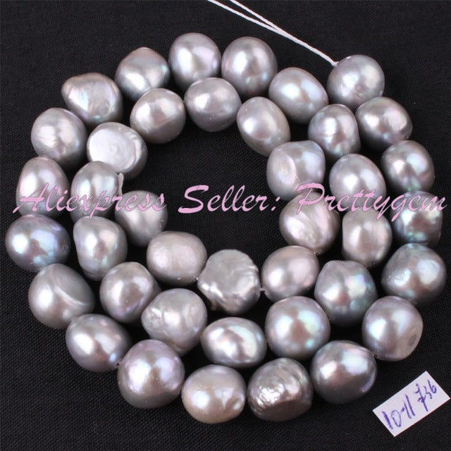 "Baroque Gem Stone Beads Strand 14.5"" For DIY Necklace Bracelet Jewelry Making"