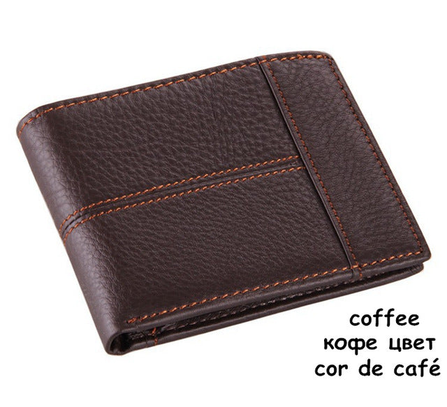 COWATHER 100% Cow Genuine Leather Men's Wallet