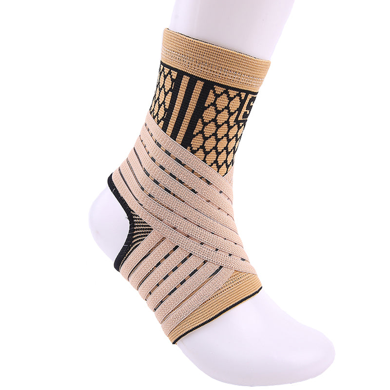 High Elastic Ankle Support compression Brace Guard Sibote