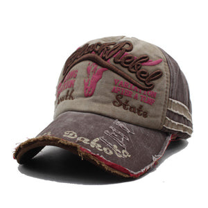 AETRUE Vintage Cotton Men Baseball Cap