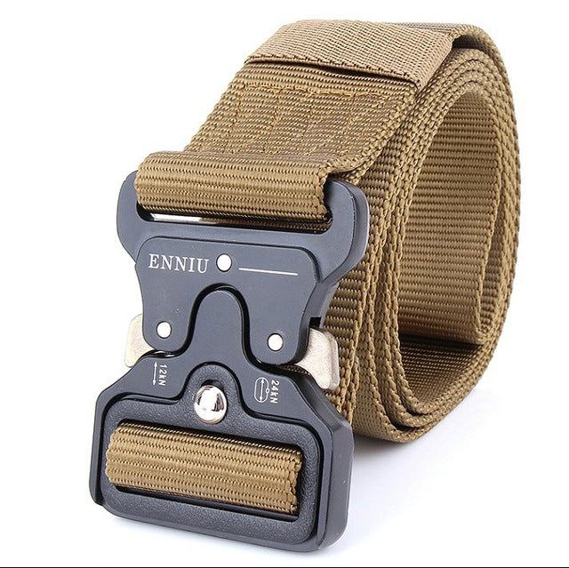 Military Equipment Knock Off Army Belt Men's Heavy Duty 100% Nylon