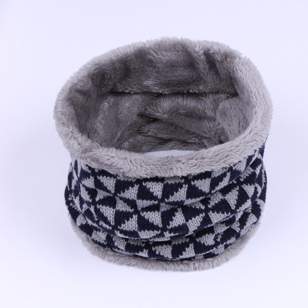 NAAMLOOS Collar Scarves Neck Thickened Wool Scarf Unisex