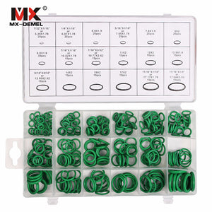 MX-DEMEL 270 Pcs 18 Sizes Kit Air Conditioning HNBR O Rings Car Auto Repair Tool