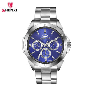 CHENXI relojes hombre 2017 CLOCK MAN Waterproof Quartz Movement Casual watch men Stainless Steel Watchband watches hodinky 4751