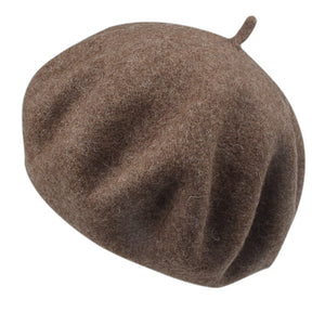 FURTALK 100% Wool Beret Hat for Women Winter Hat