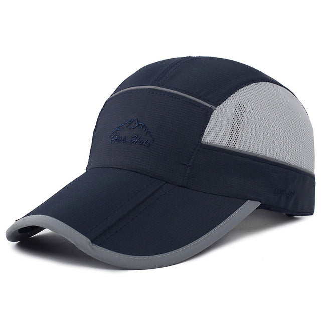 Casual Quick Dry Foldable Summer Baseball Cap