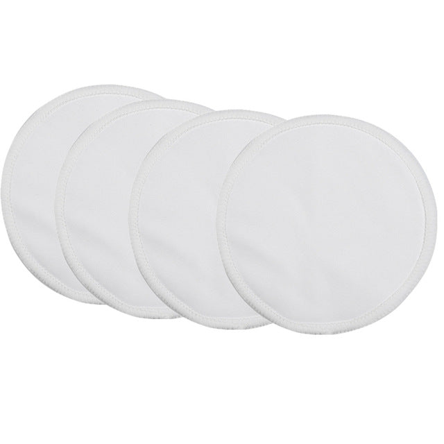 4PCS Bamboo Breast Nursing Pad For Mum Washable Waterproof
