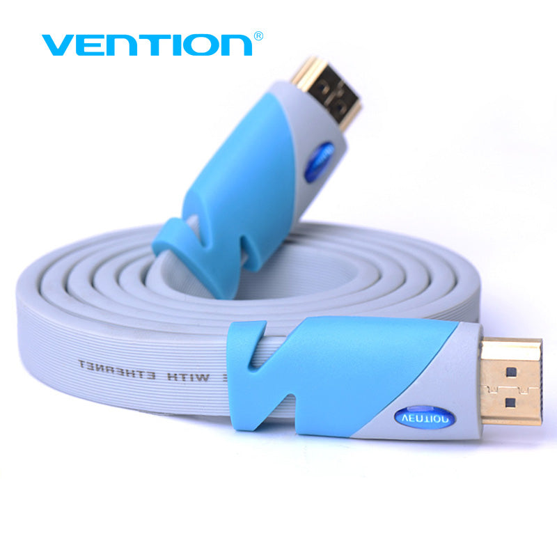 Vention HDMI Male Computer Cable 1.4 1080P 3D for PS3 projector HD LCD Apple TV