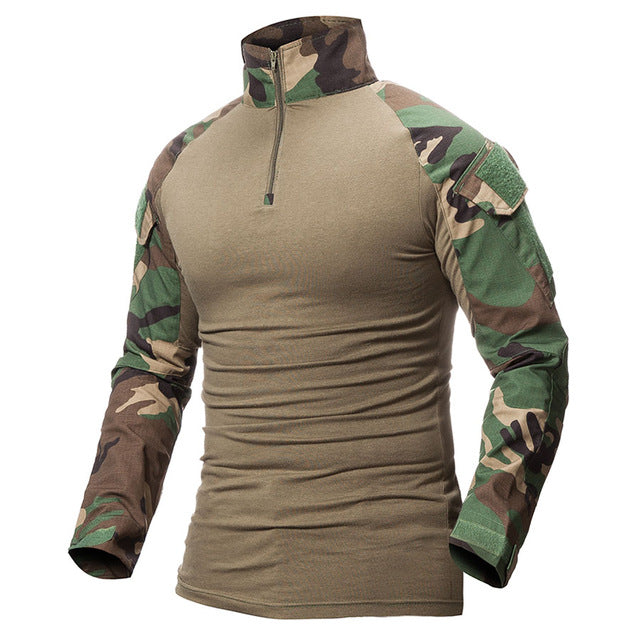 ReFire Gear Camouflage Army Combat Tactical T-Shirt