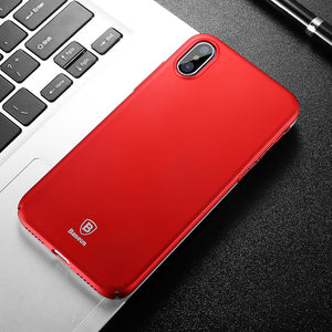 Baseus Ultra Thin Slim Protection Phone Case For iPhone X  Back Protective Cover
