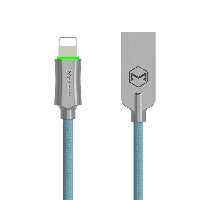 MCDODO Lightning USB Cable For iPhone Auto Disconnect Fast Charging Data Cable