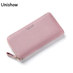 Women Long Wallet Wristband Large Capacity Purse