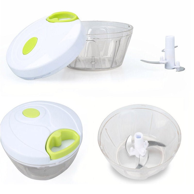 Manual Vegetable Fruit Chopper Hand Pull Kitchen Accessory