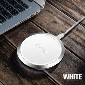 Torras Original Slim Fast 10W Qi Wireless Charger for Smartphone and Iphone