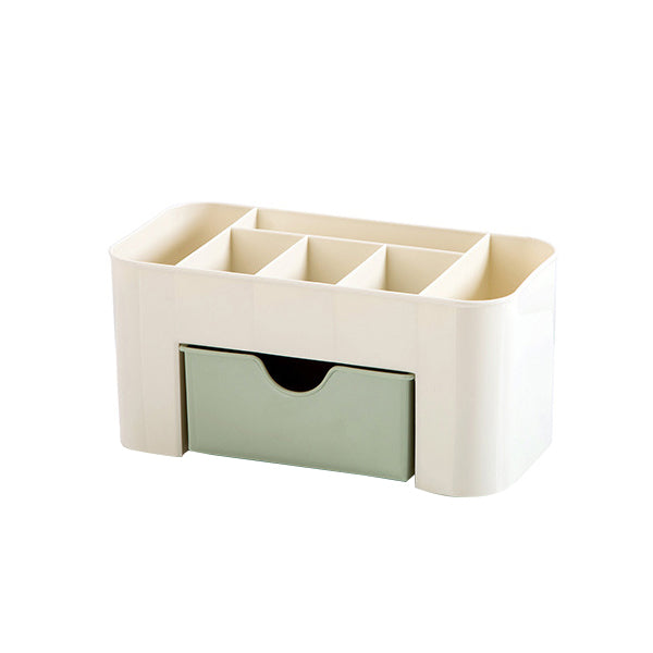 Plastic Drawer Cosmetic Box Desktop Make Up Storage Box Jewelry Case Organizer
