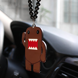 Car Pendant Acrylic Funny Domo-Kun Rock JDM Rear View Mirror Charm