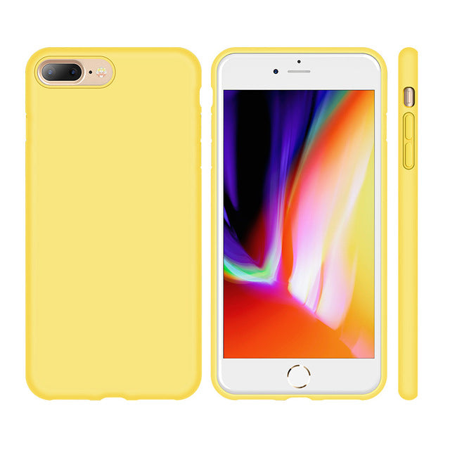 Luxury Silicone Case for iPhone 8 8 Plus 7 7plus X Protective Phone Case Torras