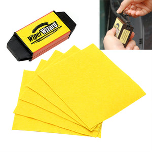 Wiper Cleaning Brush Car Windshield Wiper Wizard Blade Restorer