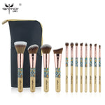 12 pieces Synthetic Makeup Brushes Set with Unique Design ANMOR