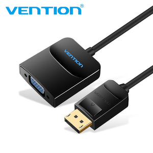 Vention Displayport to VGA Converter Displayport Adapter Male to Female