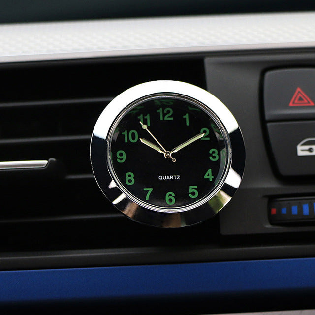 Automobile Quartz Clock Car Decoration Watch Ornaments Vehicle Auto Interior