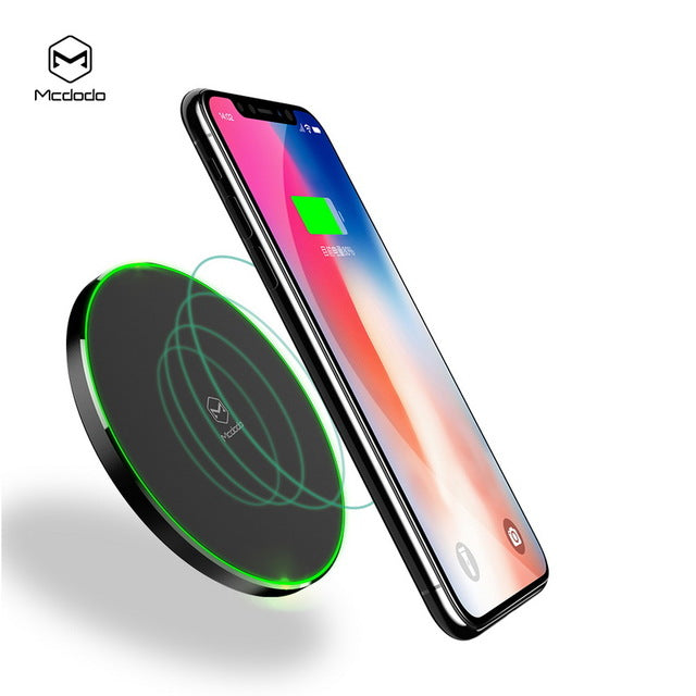 MCDODO 10W Qi Wireless Charger For iPhone 8 X 10 For Samsung Galaxy S8 S8 Plus N