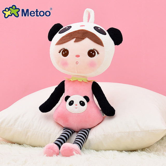 45cm kawaii Stuffed Plush Animal Keppel Panda Baby Metoo Doll