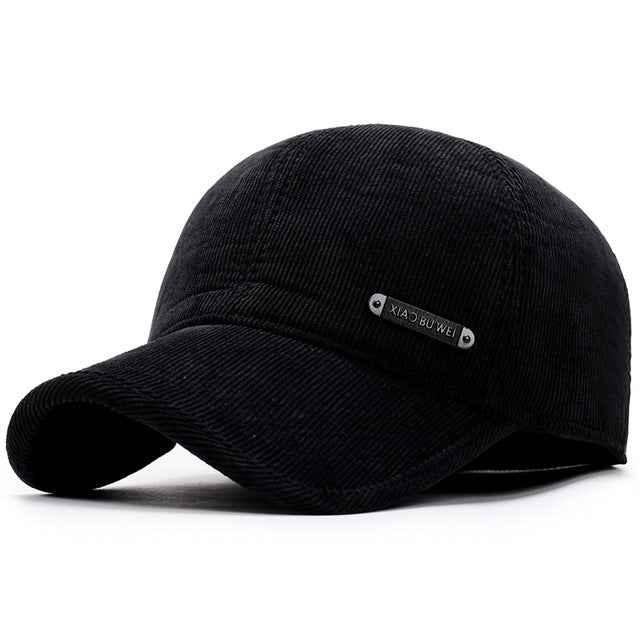 Winter Baseball Cap Keep Warm with Ear Flap Aetrends