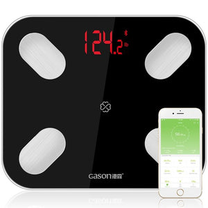 S4 Scales Floor Scientific Electronic LED Digital Weight Bathroom Balance GASON