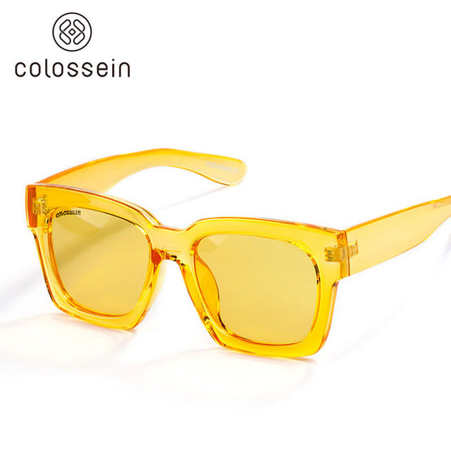 Fashion Sunglasses Women Loves Oversized Square Frame Eyewear