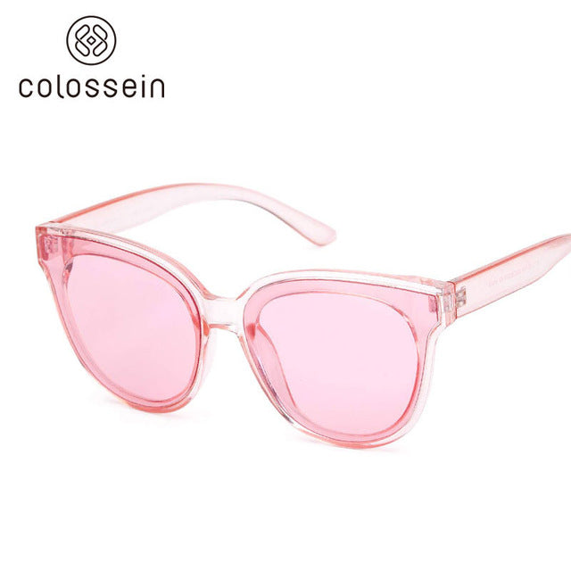 Cat Eye Luxury Sunglasses Women Brand Designer Retro Style