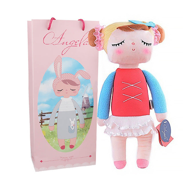 13 Inch kawaii Plush Soft Stuffed Animal Angela Rabbit Metoo Doll