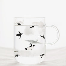 Penguin Glass Mug