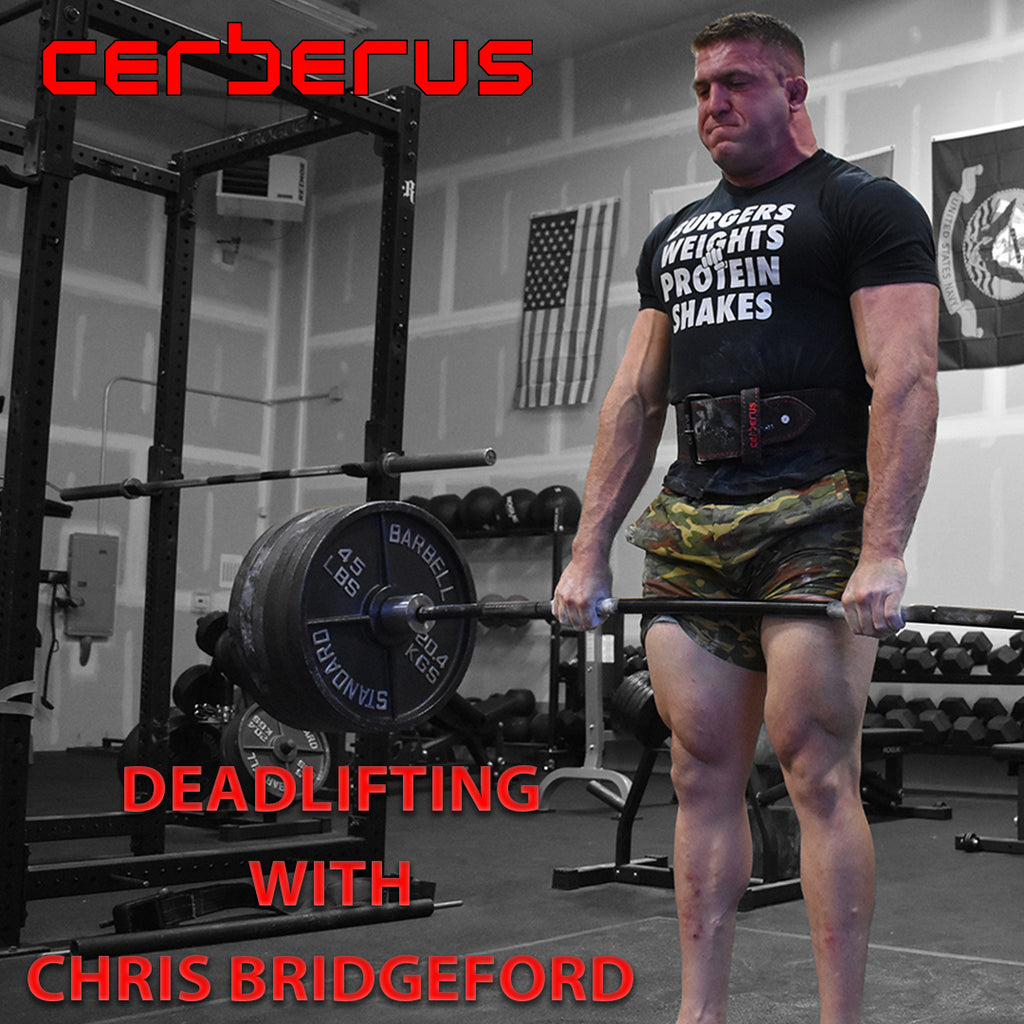 Deadlifting with Chris Bridgeford