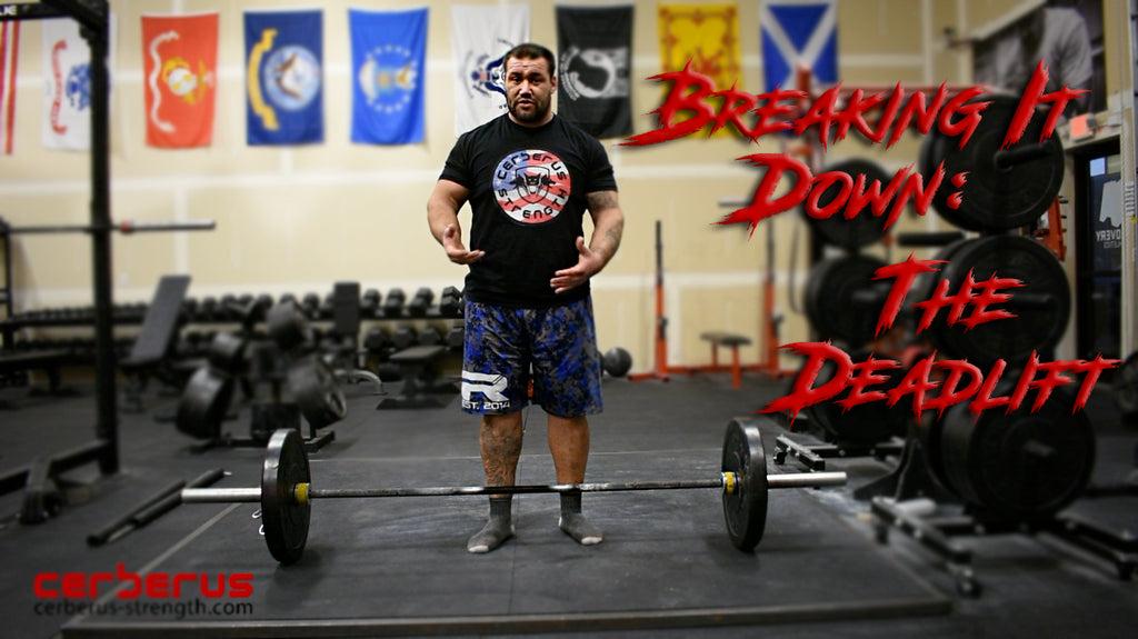 Breaking It Down; The Deadlift