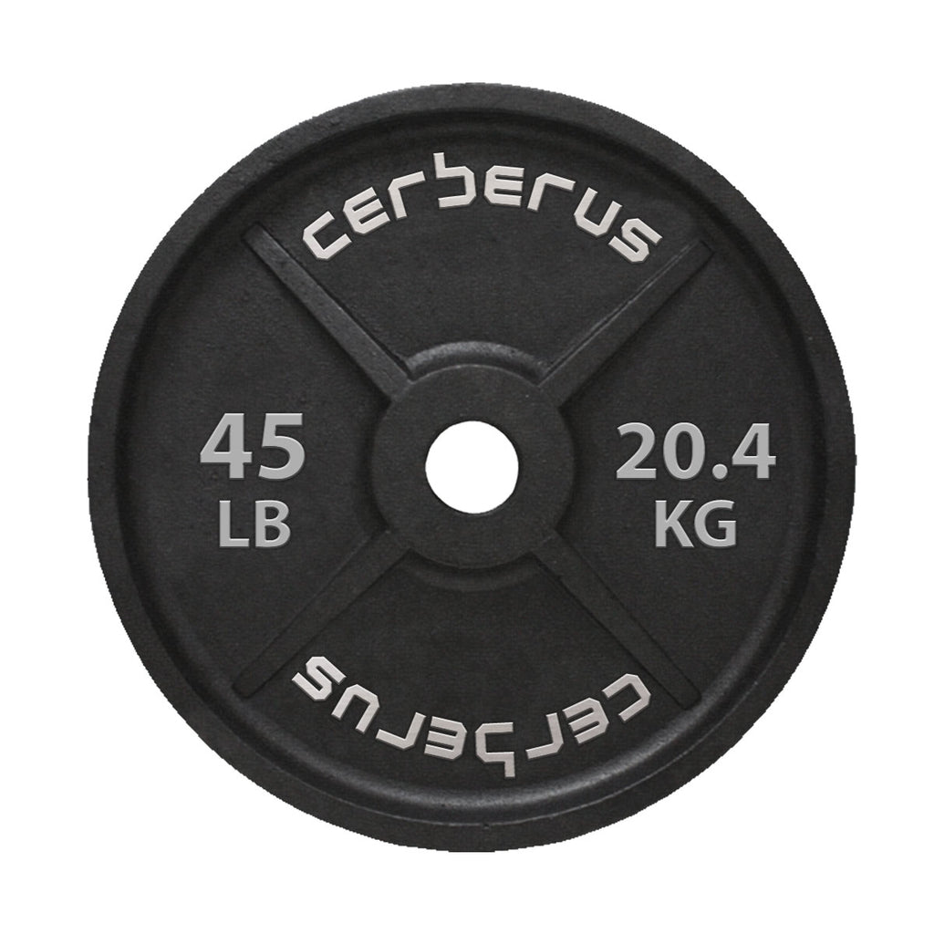 CERBERUS Cast Iron Olympic Plates- PRE ORDER ONLY