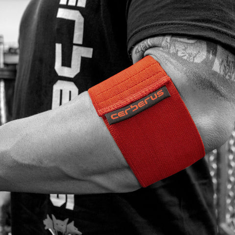 Image of Power Cuff (Red 8cm wide)