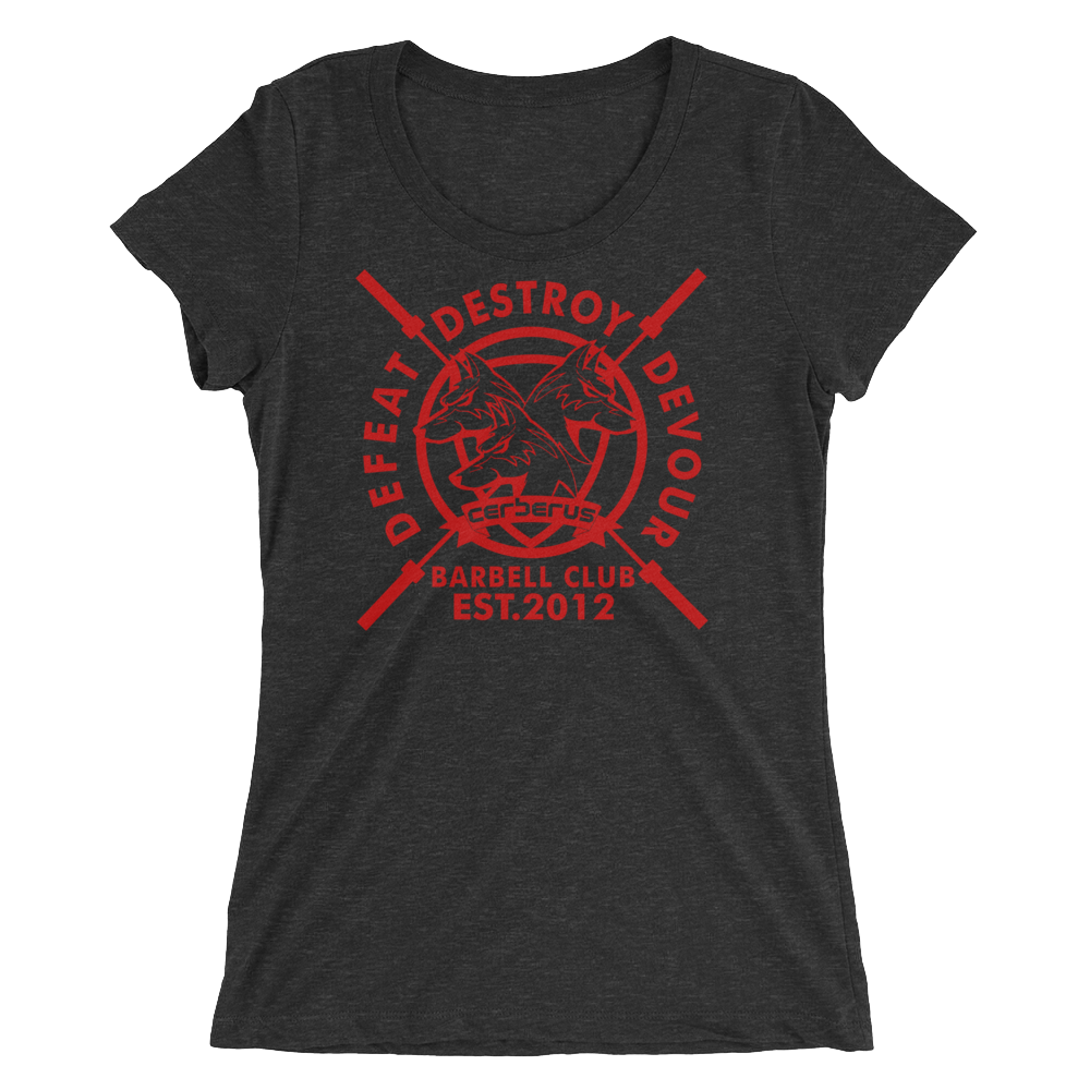 Women's Barbell Club T (Red Logo)