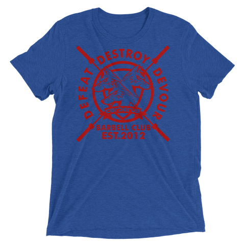 Image of Men's Barbell Club T (Red Logo)