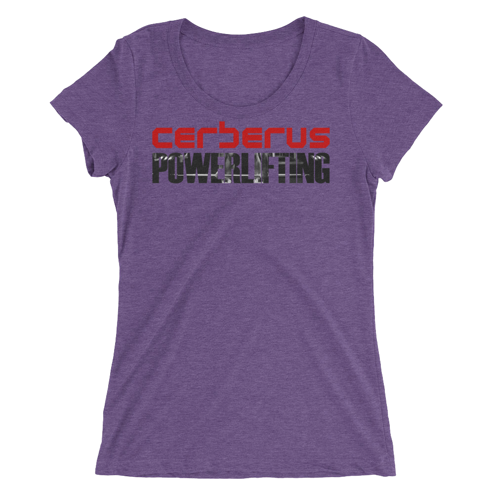 Woman's Powerlifting T