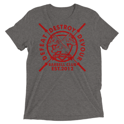 Men's Barbell Club T (Red Logo)