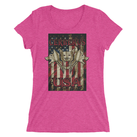 Image of Woman's Flag T