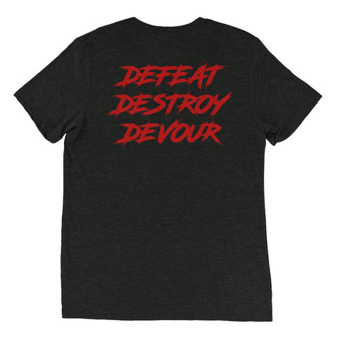 Image of Men's Defeat Destroy Devour T