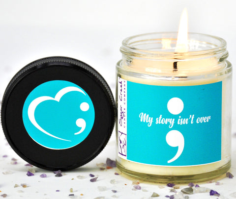 Semicolon 4oz Candle